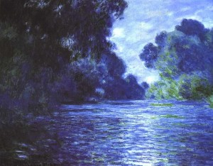 Claude Monet Painting - Branch of the Seine near Giverny 1897